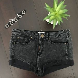 O'Neill high waisted distressed shorts